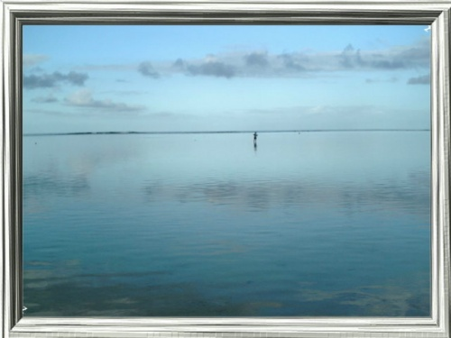 petit jour sur le lagon