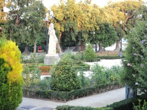 Jardin publlic à Barcelone