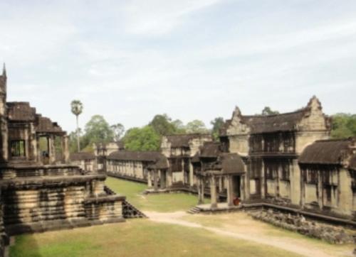 Temple d'Angkor Wat Porte Est