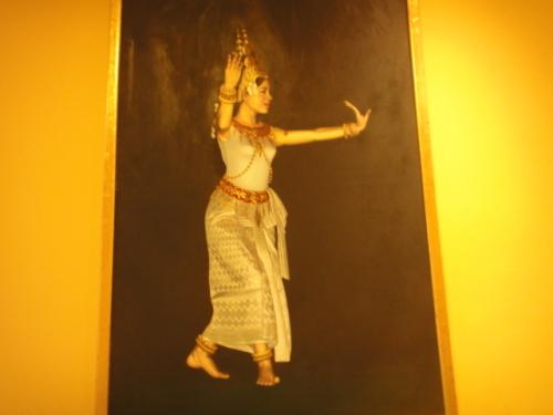 Danseuse cambobgienne
