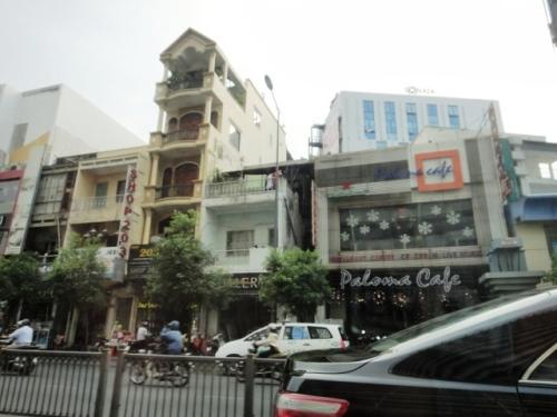 Des immeubles très étroits