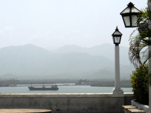 Du balcon Velasquez à Santiago de Cuba