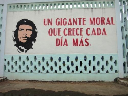 Sur un mur de Caracoa