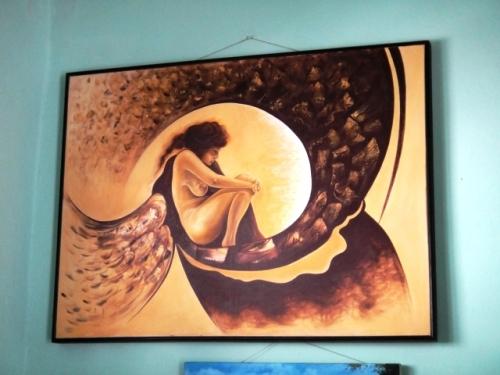 Toujours à la galerie de Baracoa