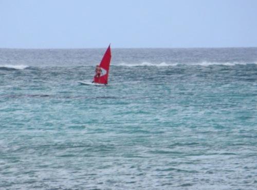 Un peu de windsurf