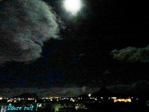 Clair de lune sur Flic en Flac