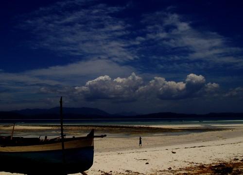 Plage de Nosy Iranja l'ïle des Tortues à Madagascar.