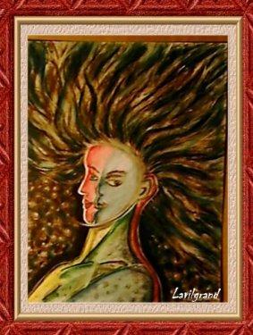 Femme schizophrène