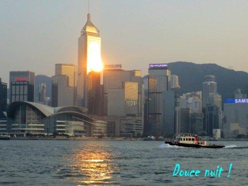 Crépuscule sur Hong Kong, ce soir