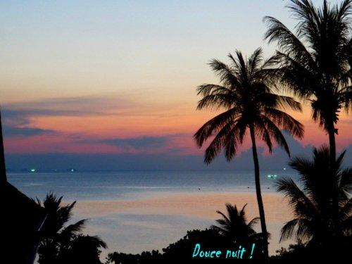 Le soleil s'est couché sur Koh Pha Nang