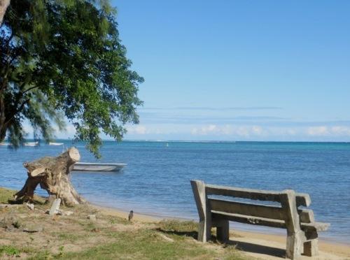 Et je reste des heures à regarder la mer!