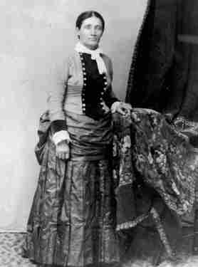 Calamity Jane en femme 1884. Denver Public Library.