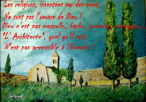 Dieu inaccessible aux humains!