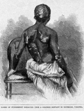 Esclave brûlée et torturée à Richmond en 1886