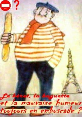 Caricature du français
