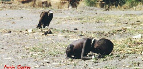 L'enfant et le vautour