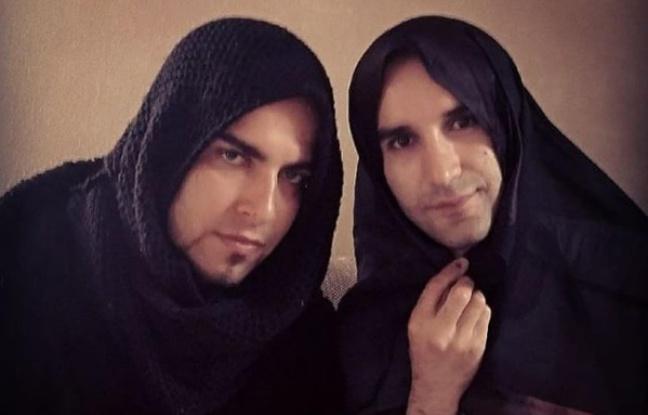 Iraniens voilés  solidarité