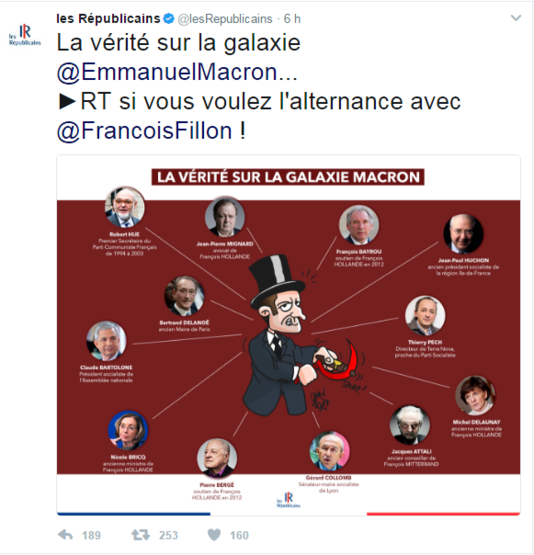 LR et Macron