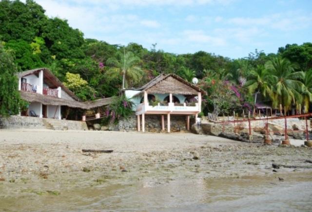 Chez Dudu à marée basse- Copie